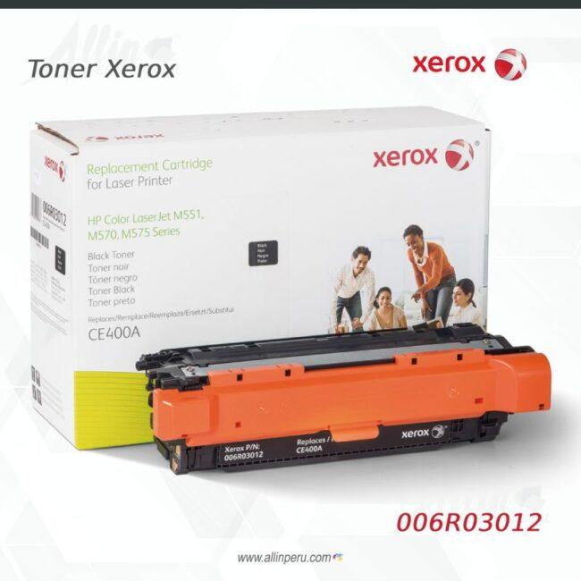 Toner Xerox 006R03012 Negro