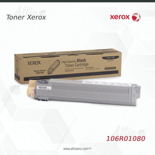 Toner Xerox 106R01080 Negro