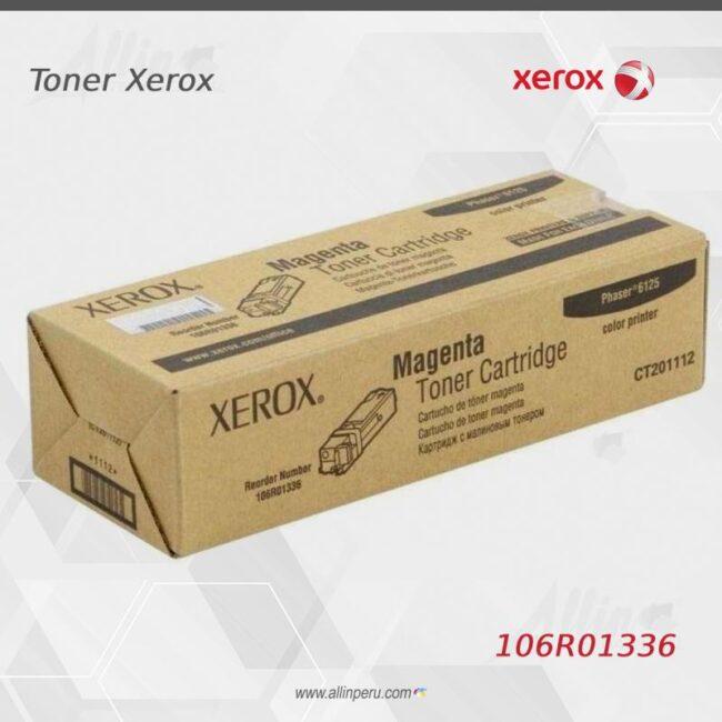 Toner Xerox 106R01336 Magentaa