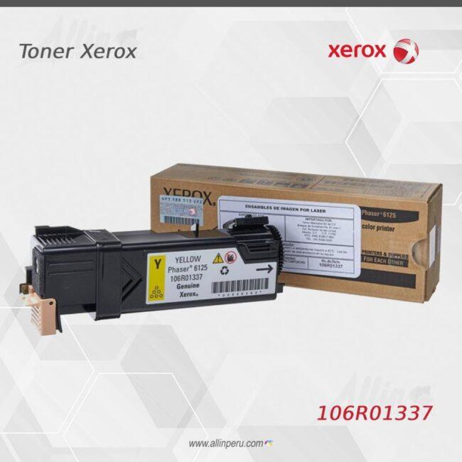 Toner Xerox 106R01337 Amarillo