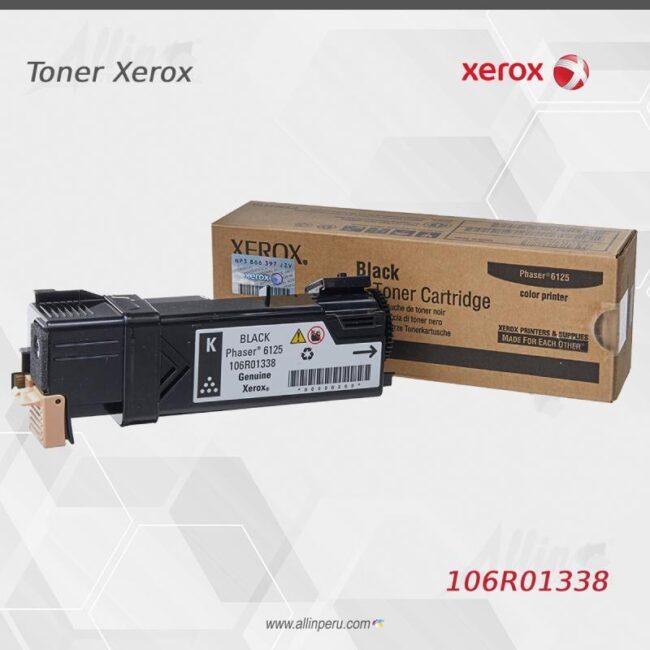 Toner Xerox 106R01338 Negro