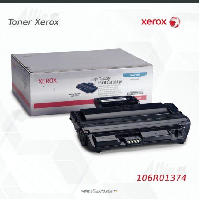 Toner Xerox 106R01374 Negro