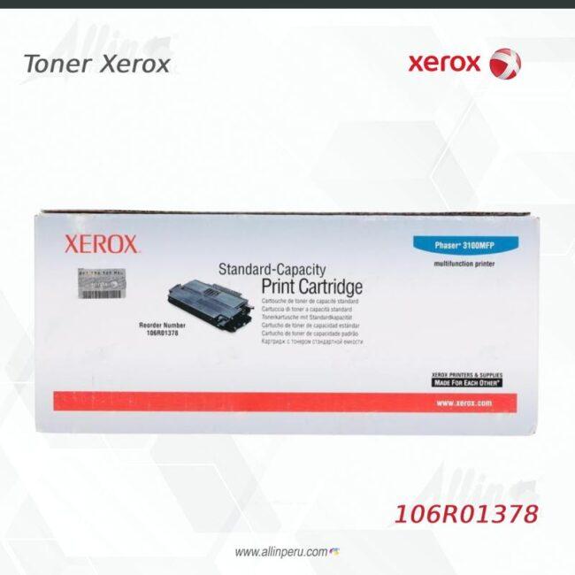 Toner Xerox 106R01378 Negro