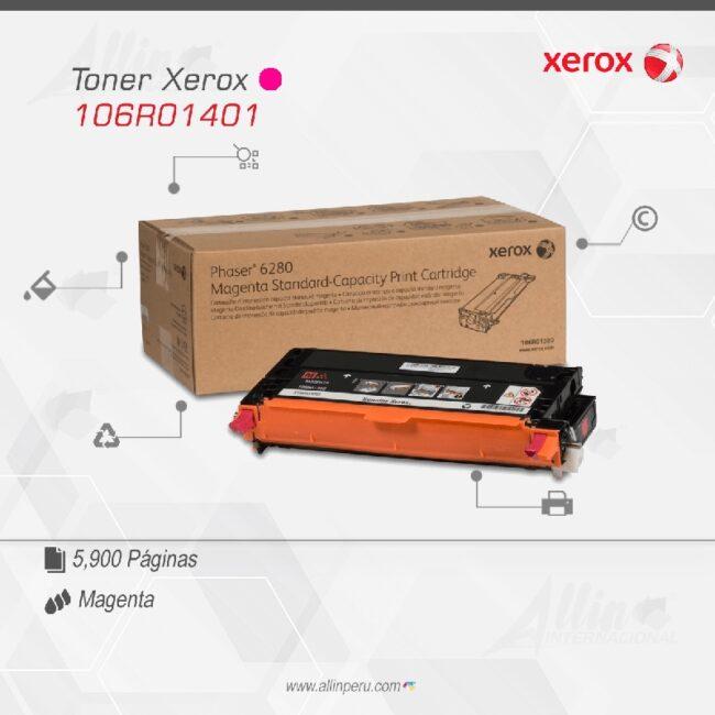 Toner Xerox 106R01401 Magenta