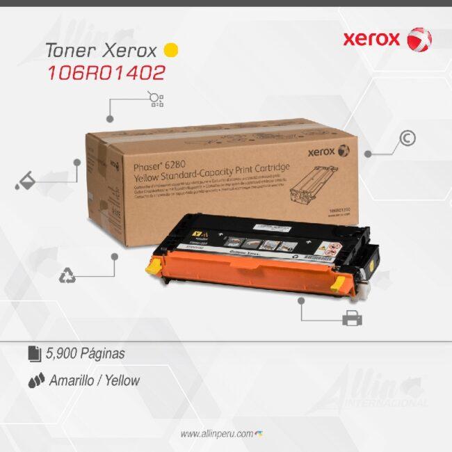 Toner Xerox 106R01402 Amarillo