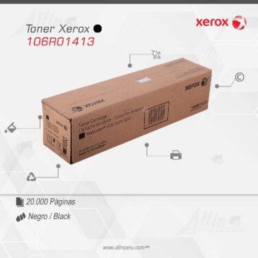 Toner Xerox 106R01413 Negro