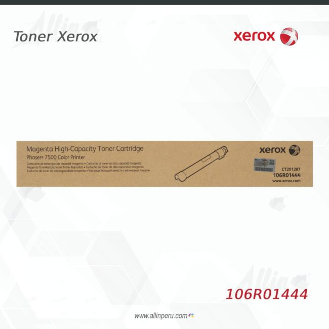 Toner Xerox 106R01444 Magenta