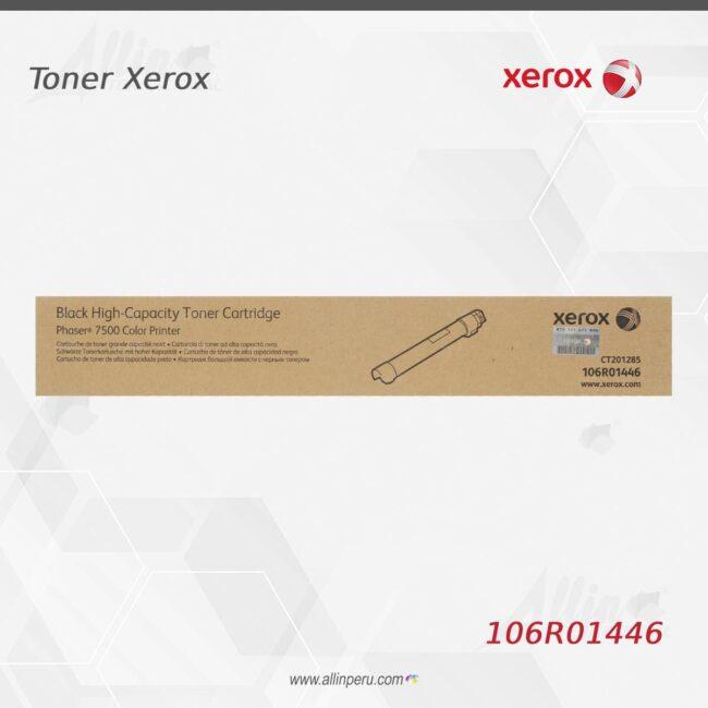 Toner Xerox 106R01446 Negro
