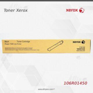 Toner Xerox 106R01450 Negro