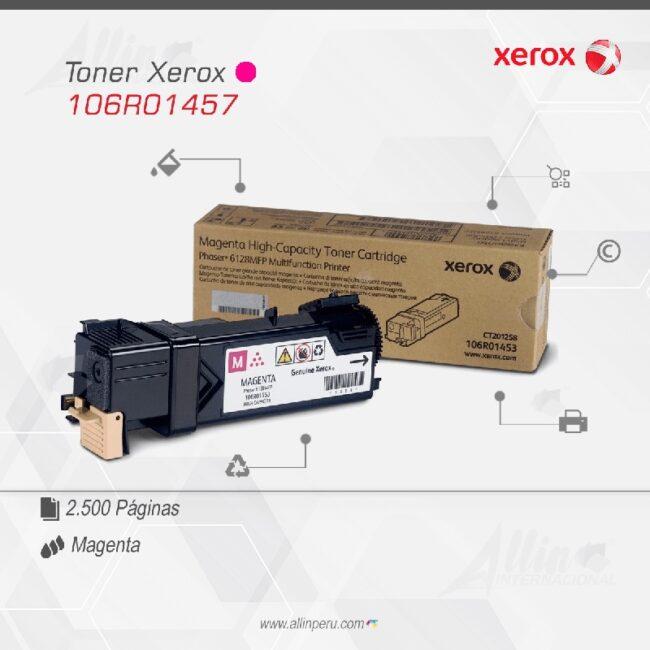 Toner Xerox 106R01457 Magenta