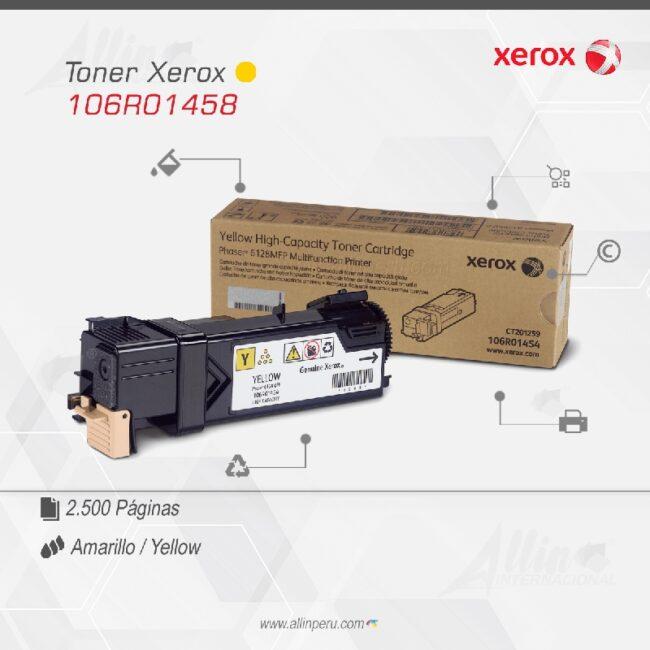 Toner Xerox 106R01458 Amarillo