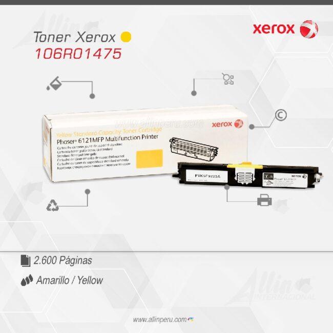 Toner Xerox 106R01475 Amarillo