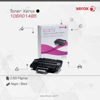 Toner Xerox 106R01485 Negro