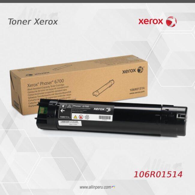 Toner Xerox 106R01514 Negro