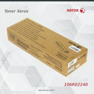 Toner Xerox 106R02240 Negro