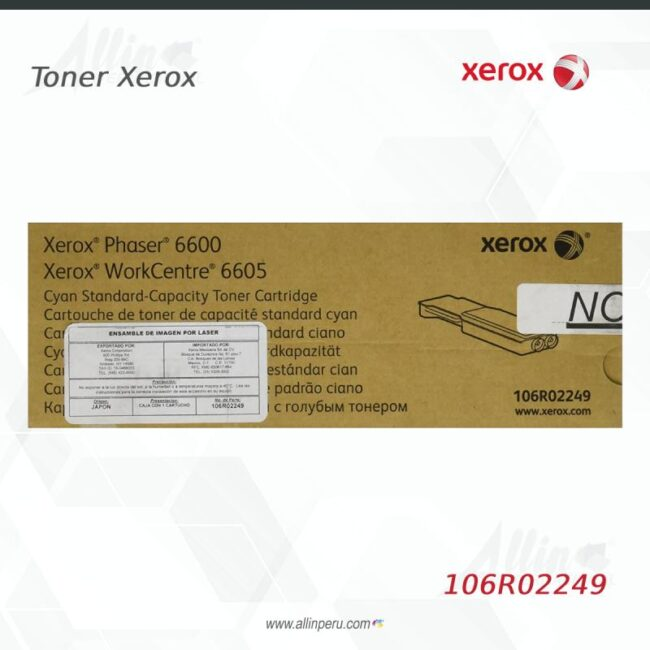 Toner Xerox 106R02249 Cian