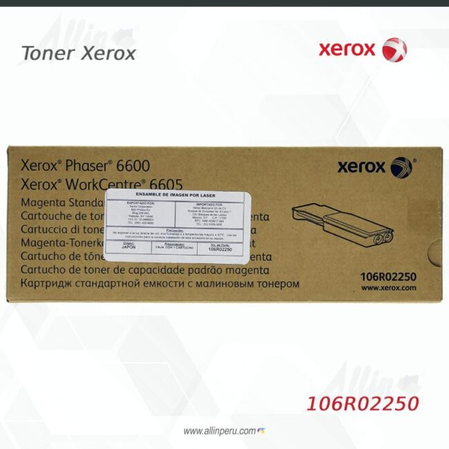 Toner Xerox 106R02250 Magenta