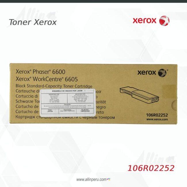Toner Xerox 106R02252 Negro