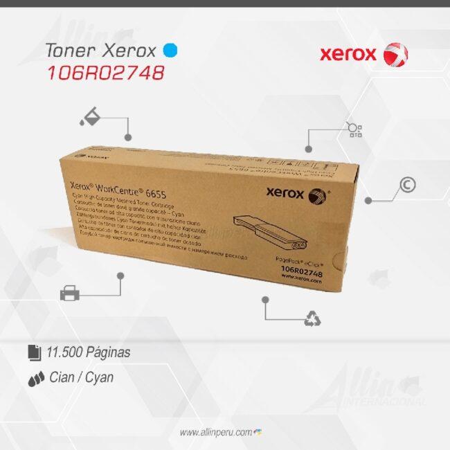 Toner Xerox 106R02748 Cian