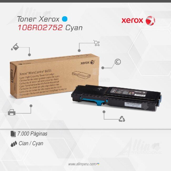 Toner Xerox 106R02752 Cian