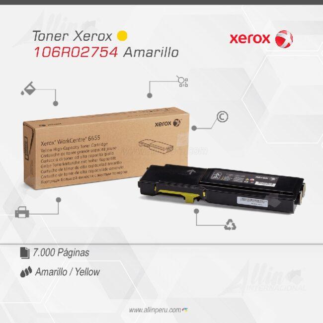 Toner Xerox 106R02754 Amarillo
