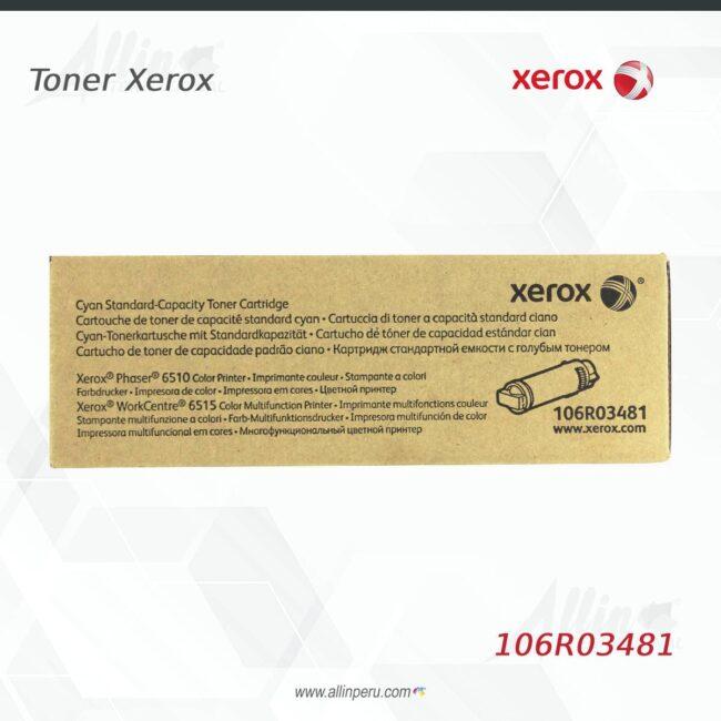 Toner Xerox 106R03481 Cian 1.000 Paginas