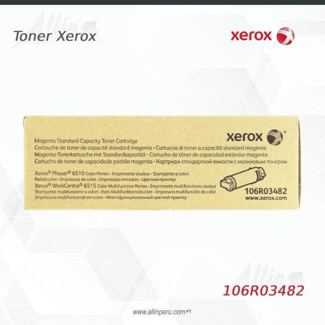 Toner Xerox 106R03482 Magenta 1.000 Paginas