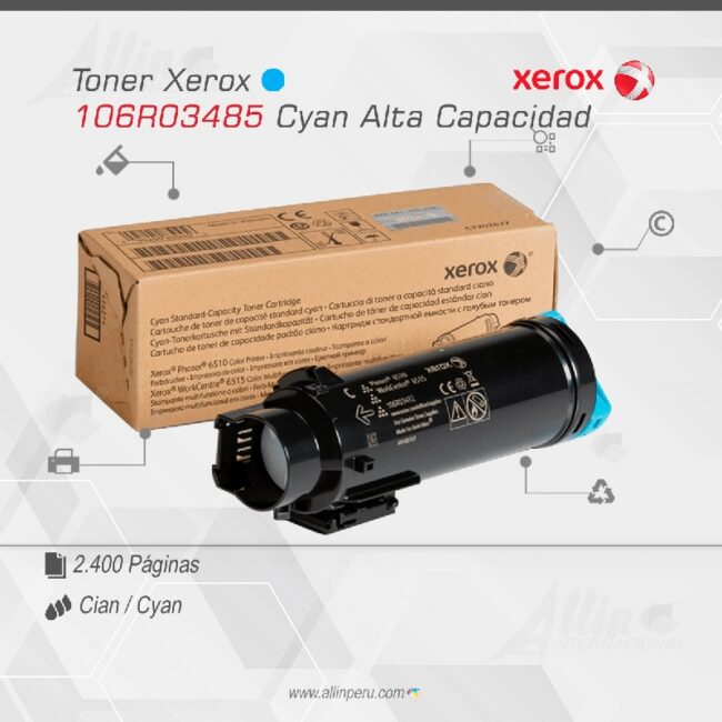 Toner Xerox 106R03485 Cian