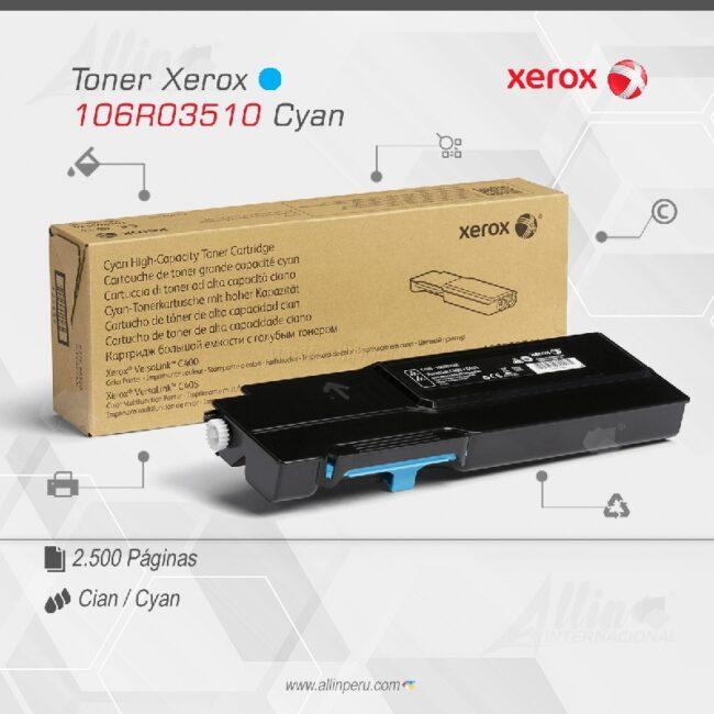 Toner Xerox 106R03510 Cian
