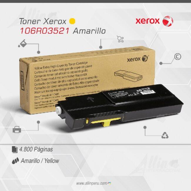 Toner Xerox 106R03521 Amarillo