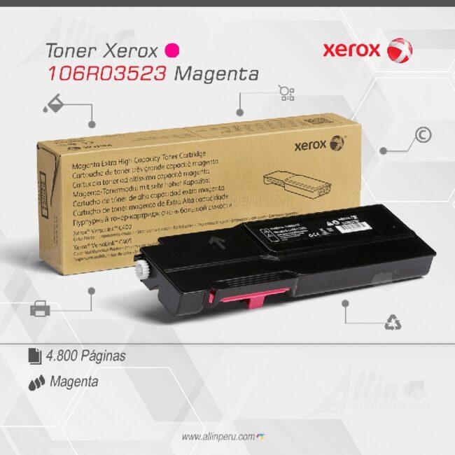 Toner Xerox 106R03523 Magenta