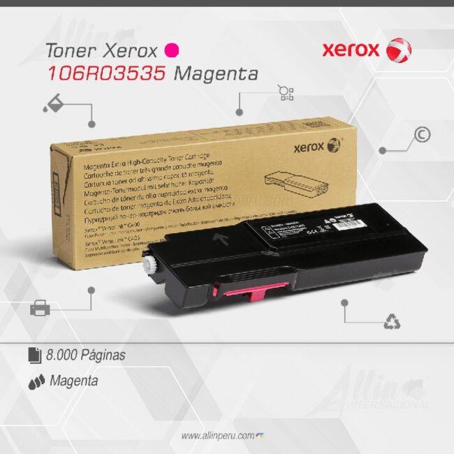 Toner Xerox 106R03535 Magenta