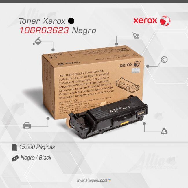 Toner Xerox 106R03623 Negro