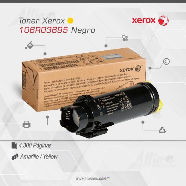 Toner Xerox 106R03695 Amarillo