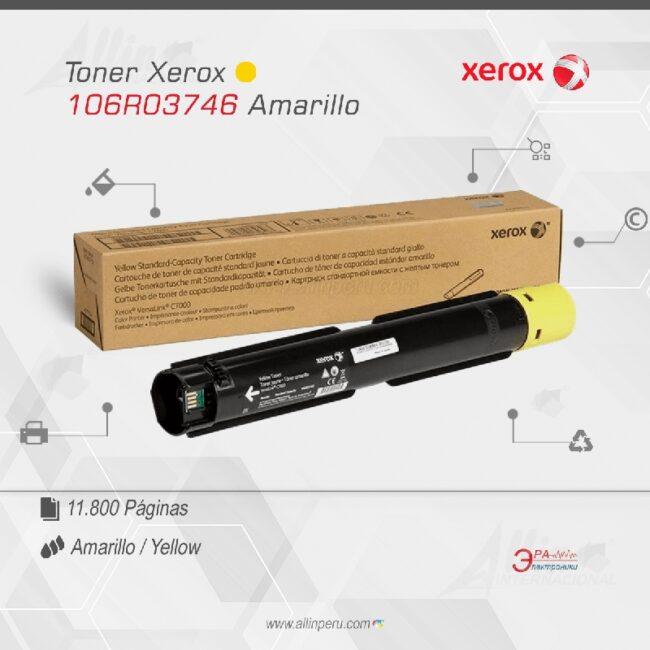 Toner Xerox 106R03746 Amarillo