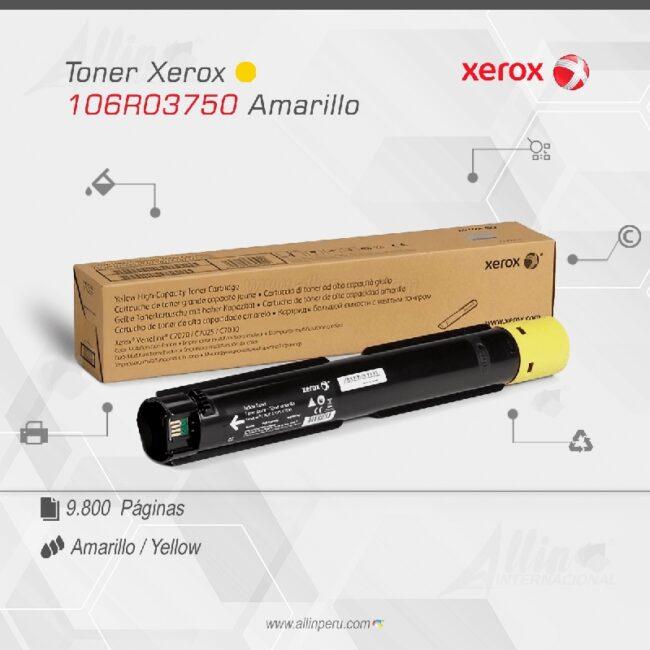 Toner Xerox 106R03750 Amarillo