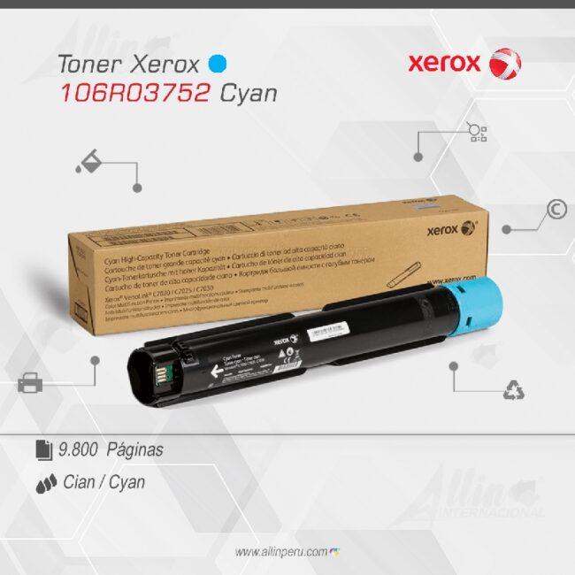 Toner Xerox 106R03752 Cian