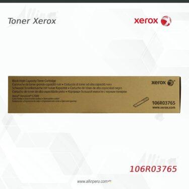 Toner Xerox 106R03765 Negro 10.700 Paginas