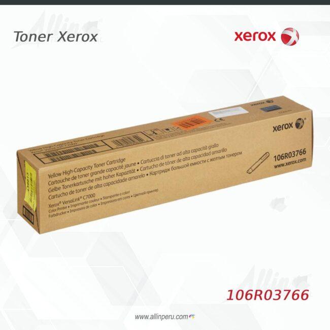 Toner Xerox 106R03766 Amarillo 10.100 Paginas