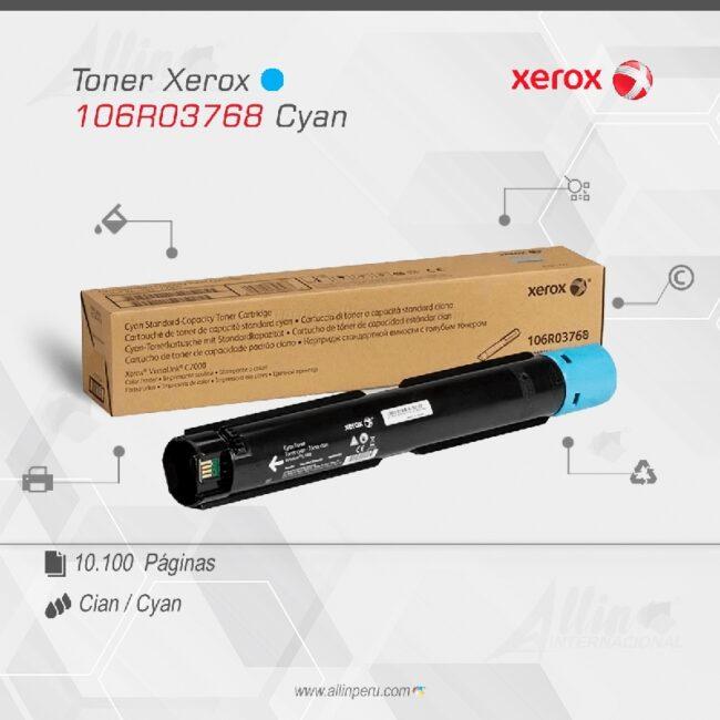 Toner Xerox 106R03768 Cian 10.100 Paginas