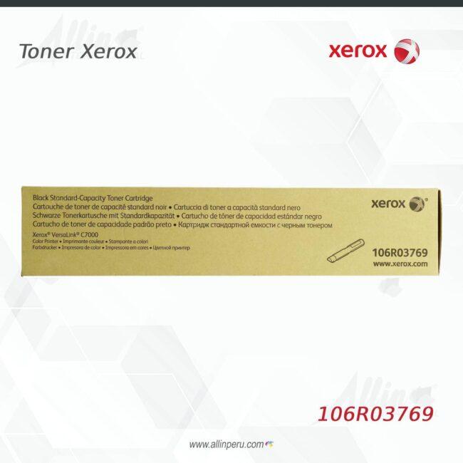 Toner Xerox 106R03769 Negro 5.300 páginas