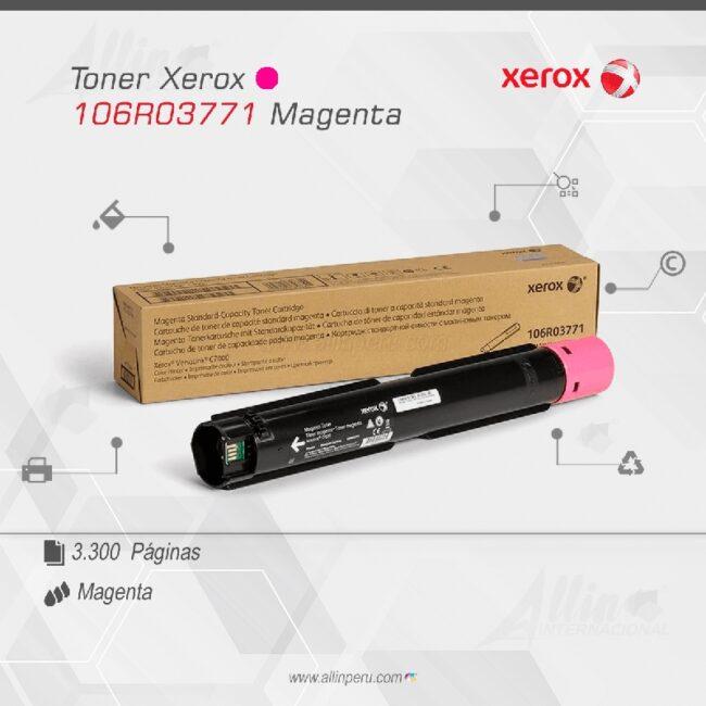 Toner Xerox 106R03771 Magenta 3.300 páginas