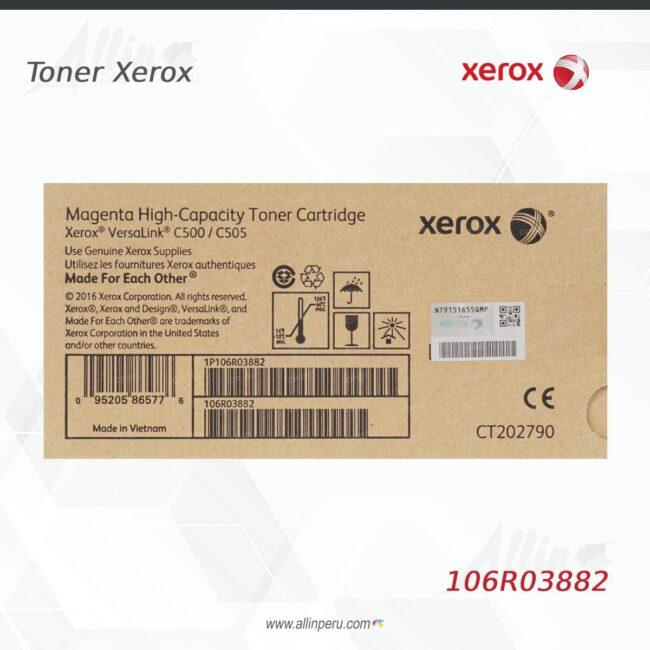 Toner Xerox 106R03882 Magenta 5.200 páginas