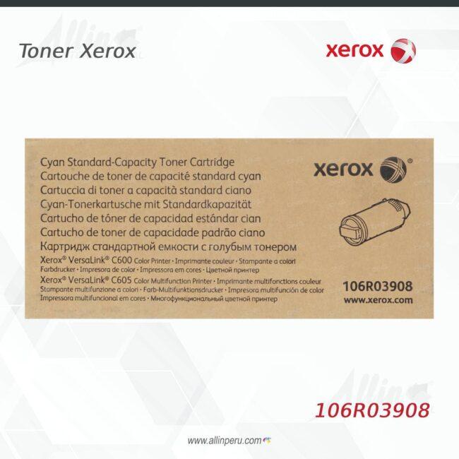 Toner Xerox 106R03908 Cian 6.000 páginas