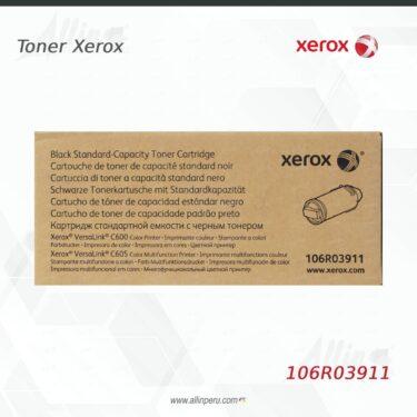Toner Xerox 106R03911 Negro 6.000 páginas