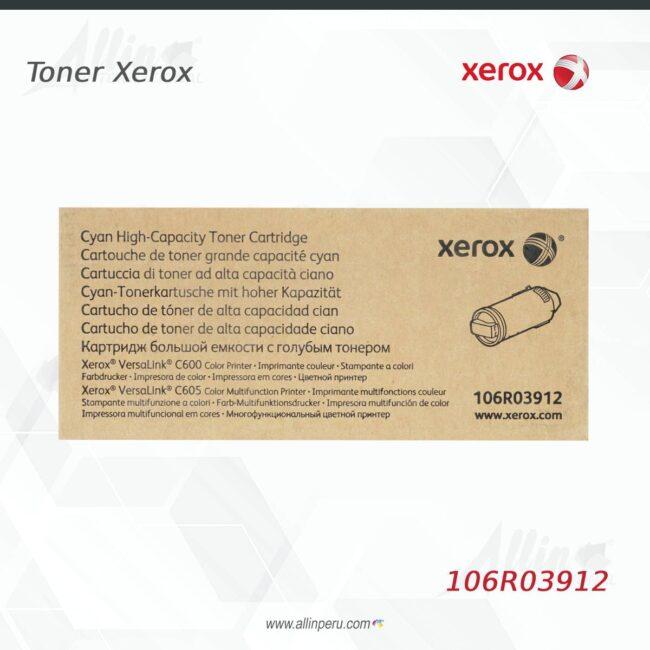 Toner Xerox 106R03912 Cian 10