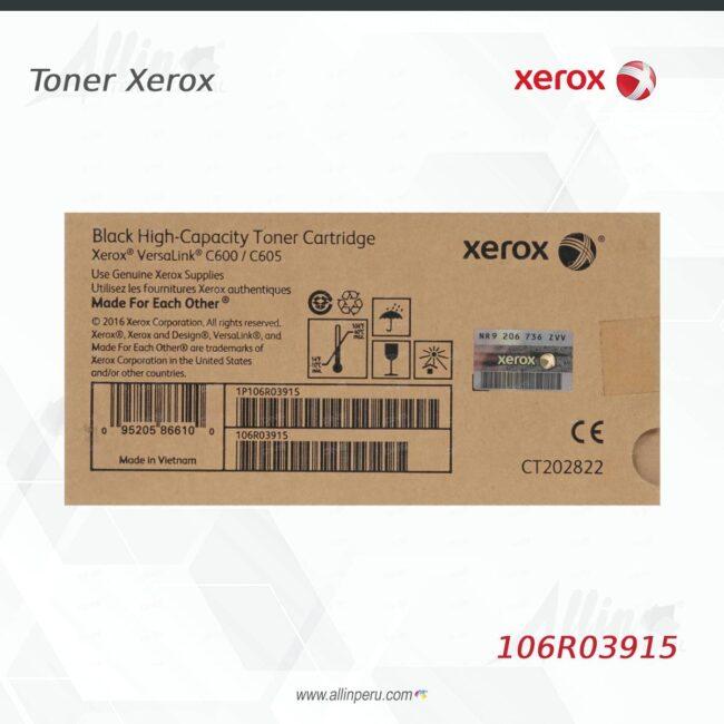 Toner Xerox 106R03915 Negro 10