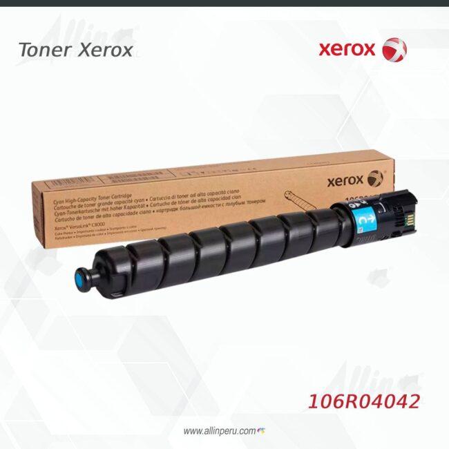 Toner Xerox 106R04042 Cian 7.600 Paginas
