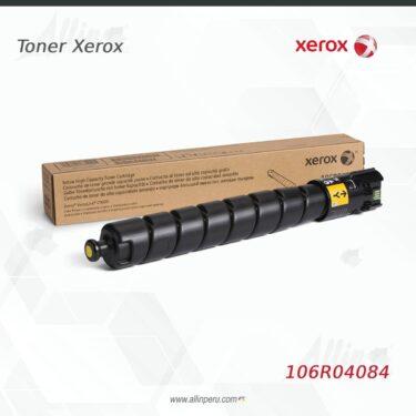 Toner Xerox 106R04084 Amarillo 26.500 páginas Alta Capacidad