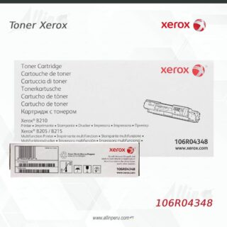 Toner Xerox 106R04348 Negro 3.000 páginas
